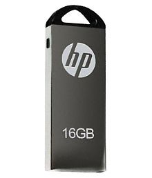HP V220W 16 GB Pen Drives Grey and White