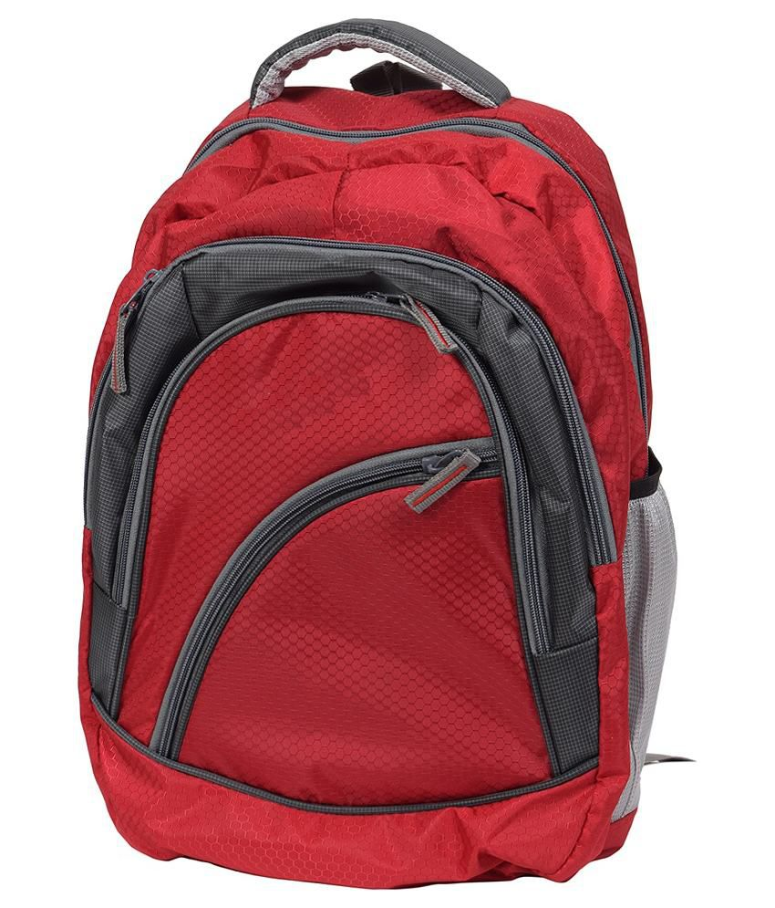 FIPPLE Red Polyester Laptop Bag For Dell Laptops