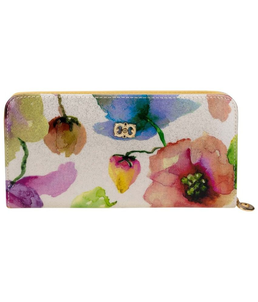 Zeva Multicolour Regular Wallet for Women