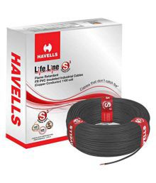 Havells PVC Insulated Core Cable - 1.5MM (Pack Of 2)
