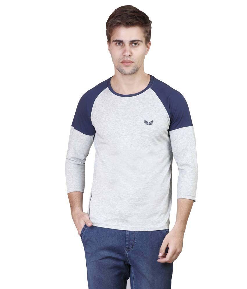 Righardi Grey Round T Shirts