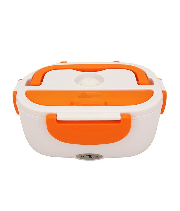 Home Creations Orange Electric Lunch Box Available At