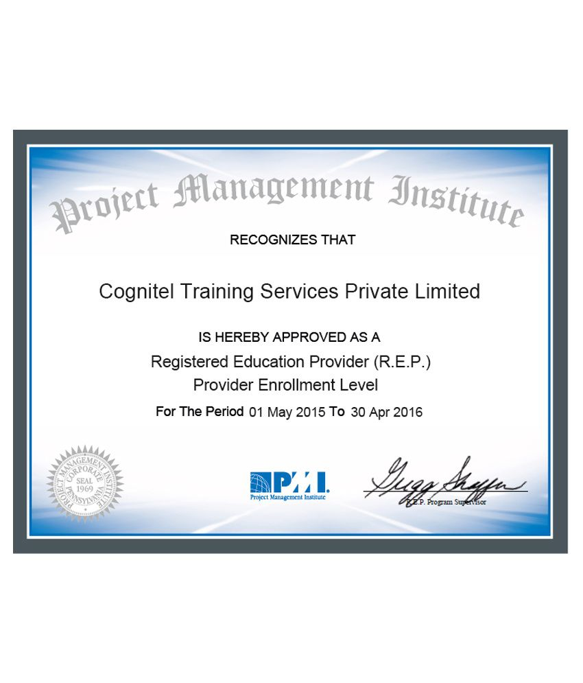 Wiziq Project Management Professional Pmp Pmbok 5 Certification