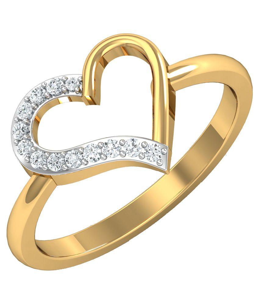 Alankardiamonds 18kt Gold Diamond Ring