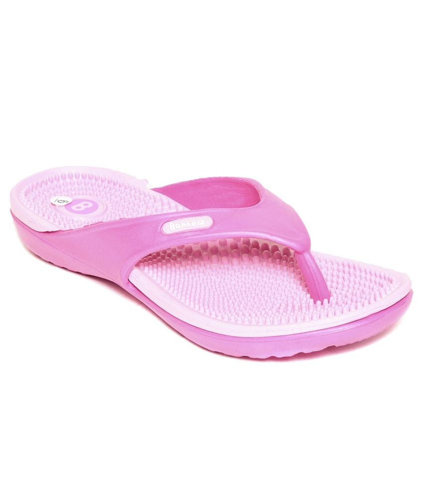 ba04199a1d22 Bonkerz Pink Slippers Price in India- Buy Bonkerz Pink Slippers Online at  Snapdeal