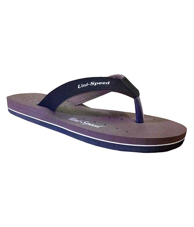 Unispeed Purple Flip Flops