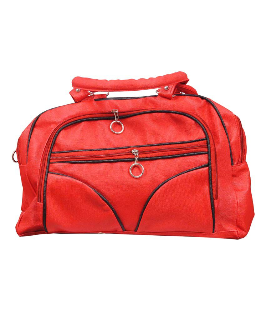 Blue Indians Red P.U. Shoulder Bag