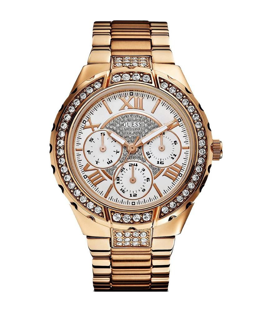 b1fa208c8 Guess W0111L3 Analog - Chronograph Women's Watch Price in India: Buy Guess  W0111L3 Analog - Chronograph Women's Watch Online at Snapdeal