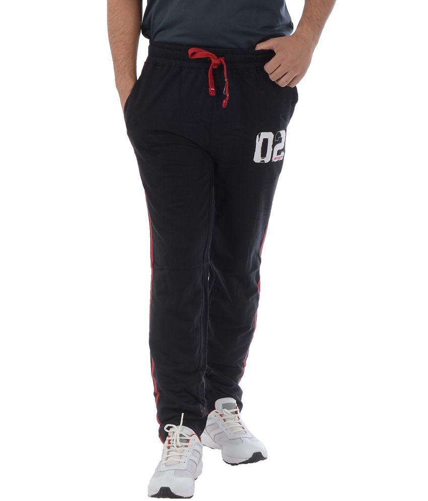 Integriti Black Trackpants
