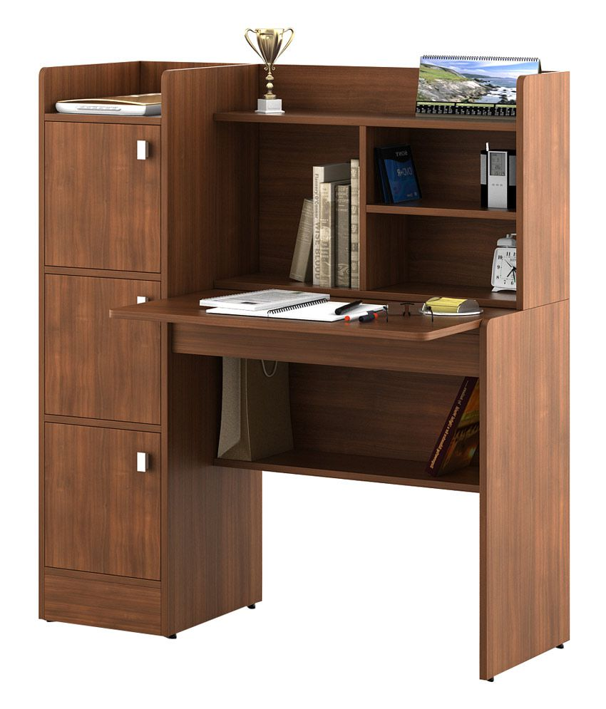 Buy: Kosmo Study Table In Brown