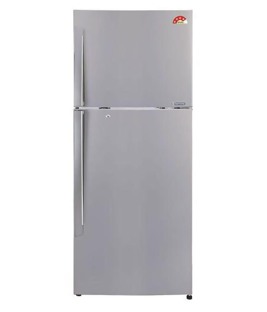 LG 284 LTR 4 Star GL-I302RPZL Double Door Refrigerator - Shiny Steel
