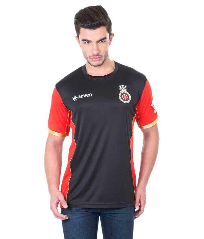 Royal Challengers Bangalore Black T Shirts
