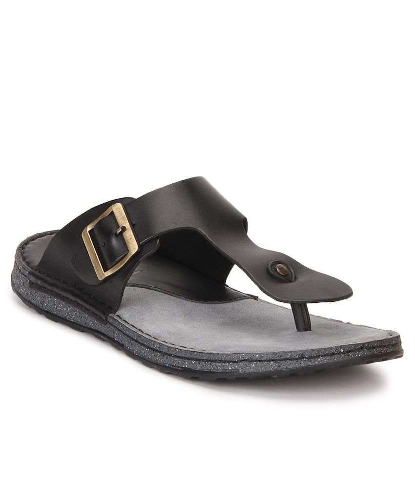 Black sandals online - Ruosh Black Sandals