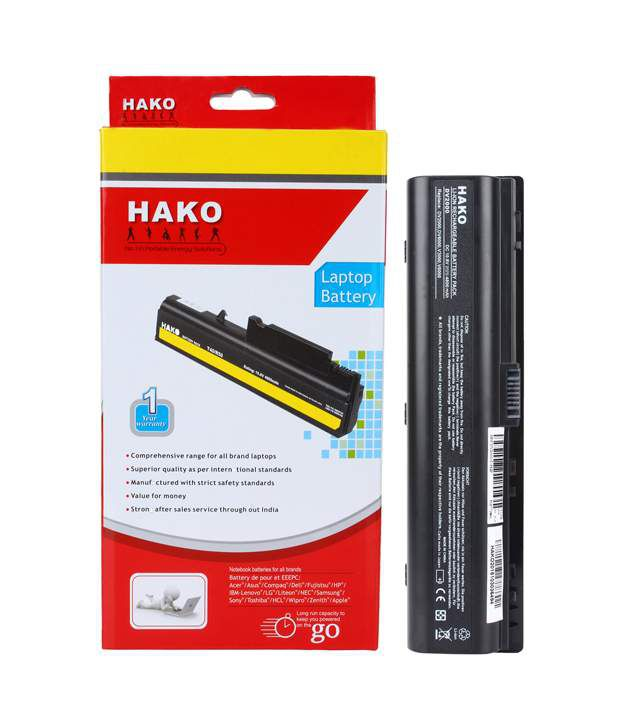 Hako HP Compaq Pavilion Dv2000 Series 6 Laptop Cell Battery