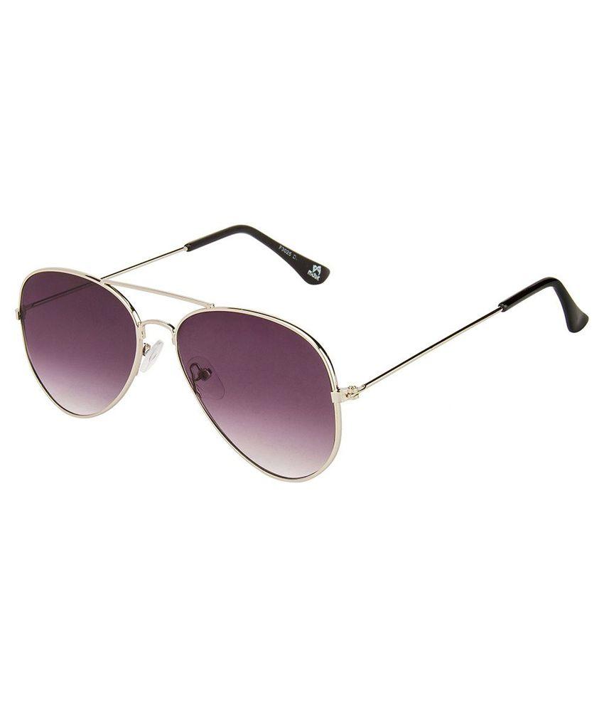 Mask Gray Aviator Sunglasses