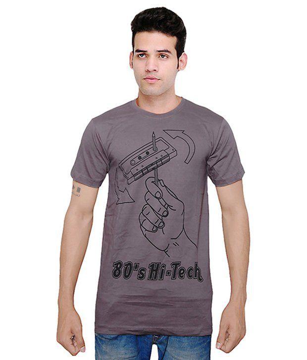 Rani Creations Grey Round T Shirt
