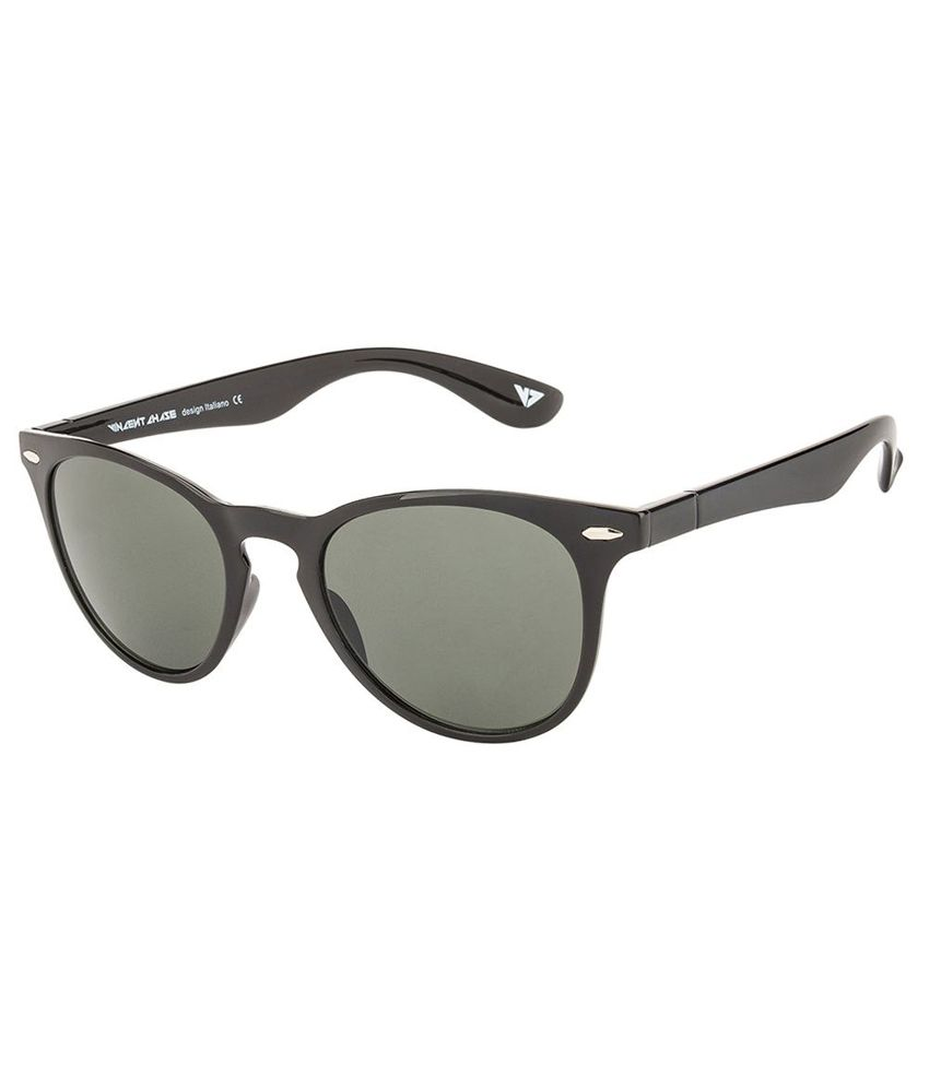 Vincent Chase Green Round Sunglasses