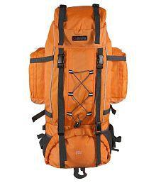 Bleu Orange Light Weight Travel Rucksack Backpack - 75 L