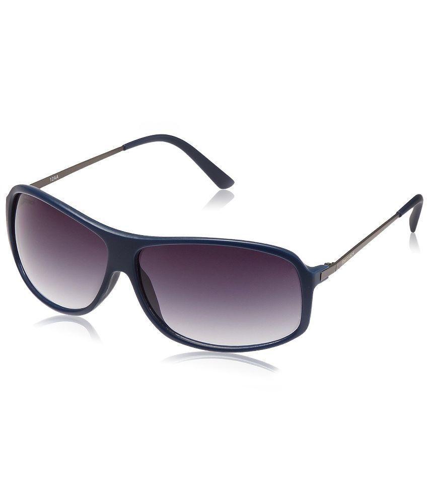 Fastrack Gun Metal Rectangle Sunglasses