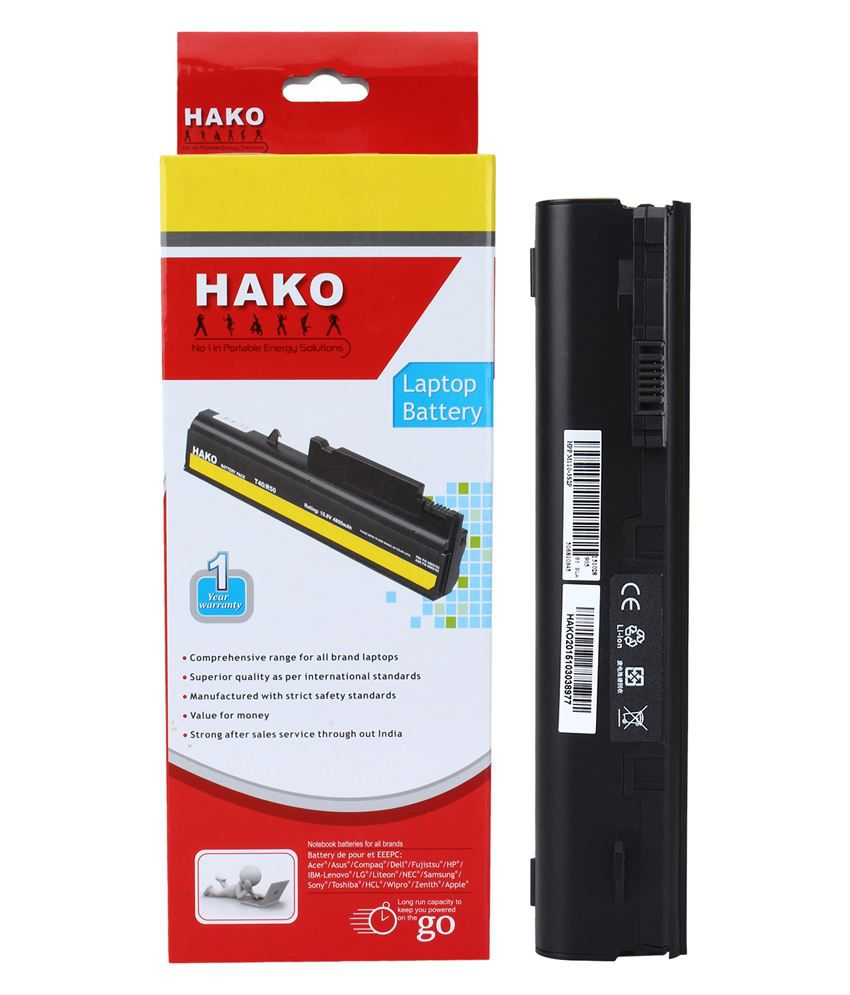 Hako Hp Compaq Mini 110-1142tu 6 Cell Laptop Battery
