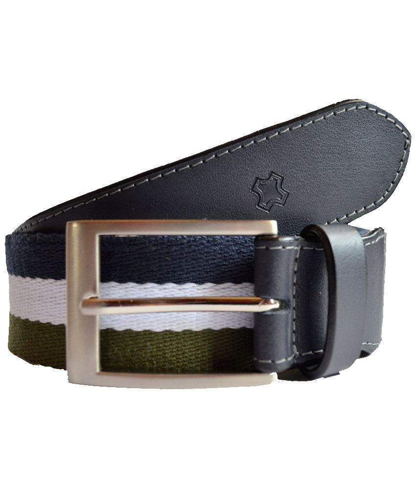 Hidea Multicolor Canvas Belt for Men