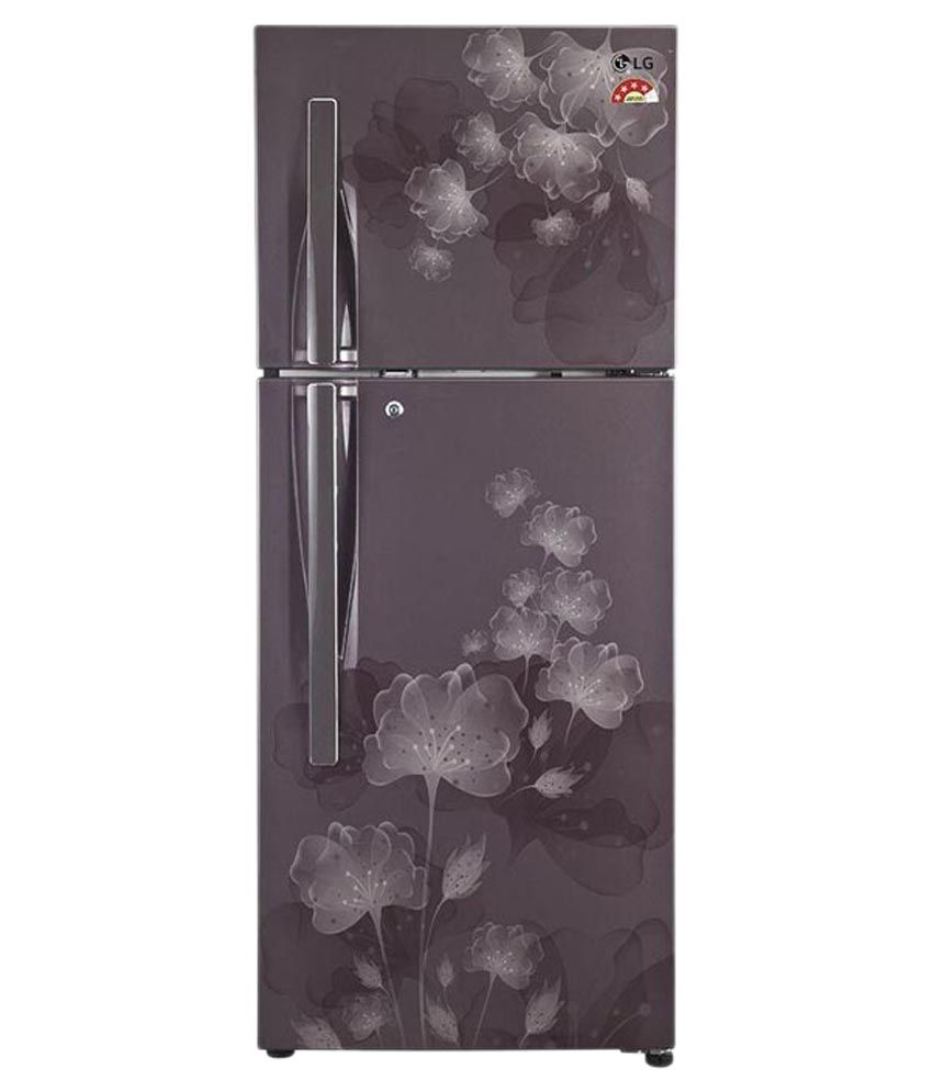 LG 284 Ltr 4 Star GL-I302RGFL [Smart Inverter Compressor] Double Door Refrigerator - Graphite Florid