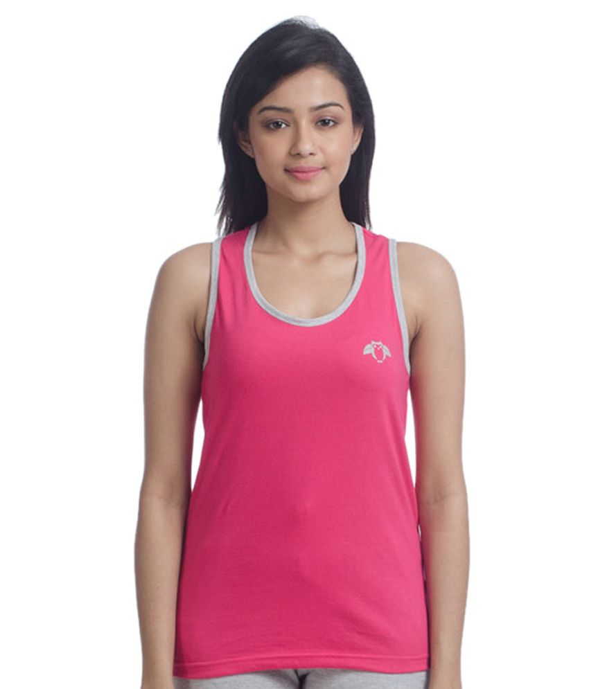 Nite Flite Active Hot Pink Tank Top