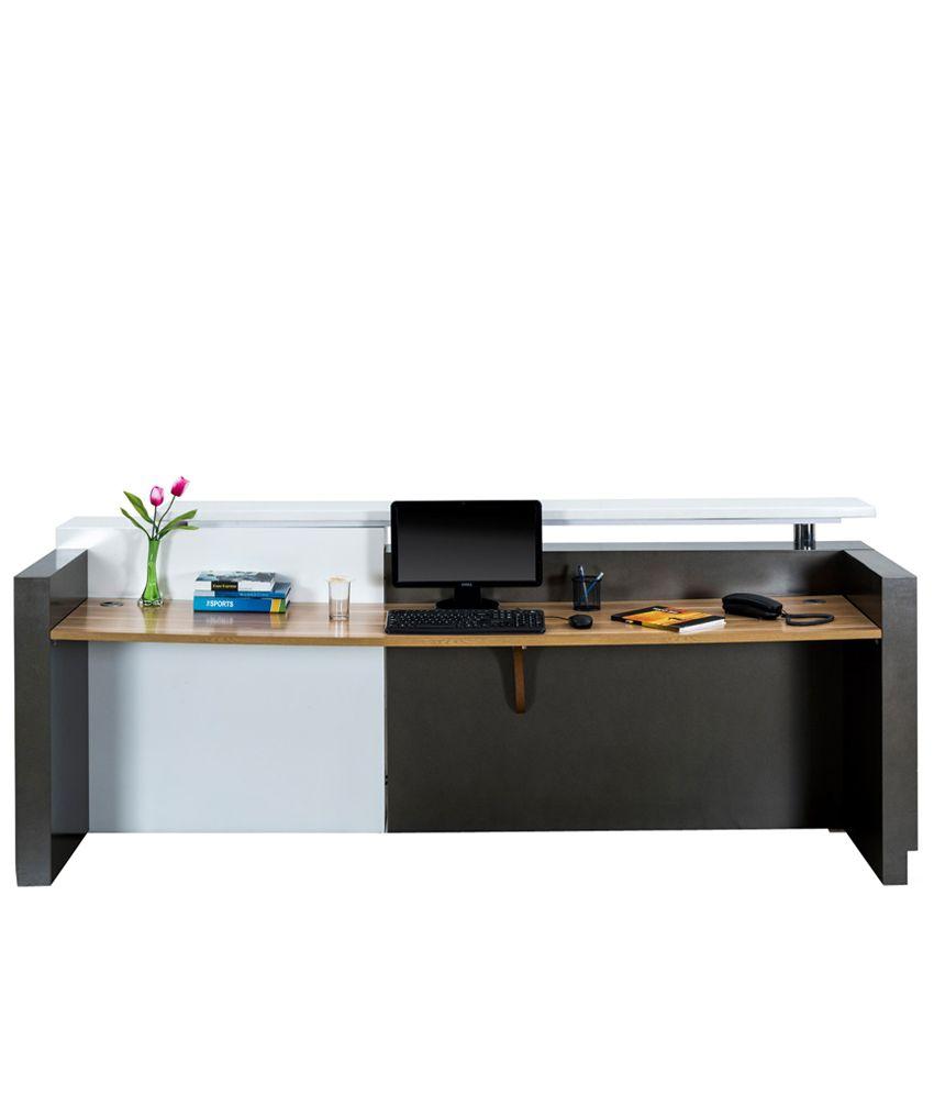 royal oak reception table buy royal oak reception table online at rh snapdeal com