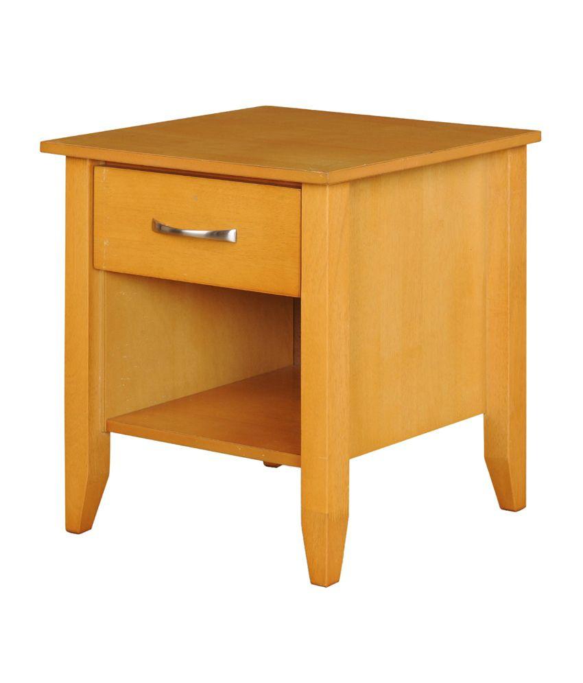 Royal Oak Solid Wood Bedside Table