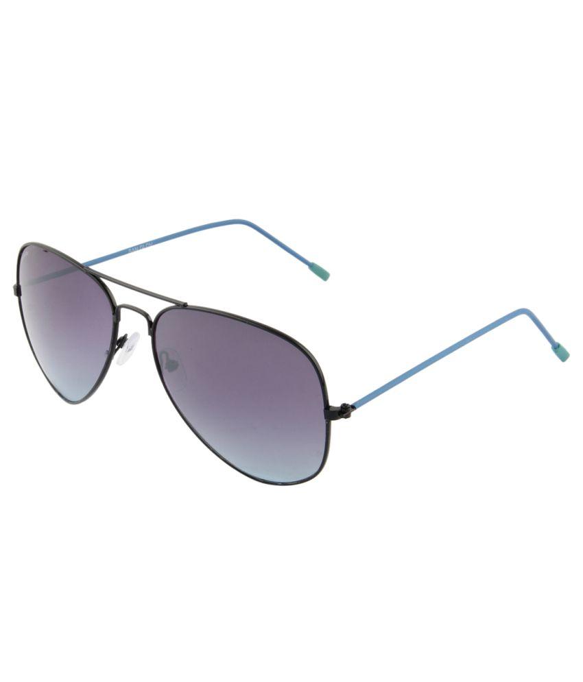 San Glov Voilet Aviator Sunglasses