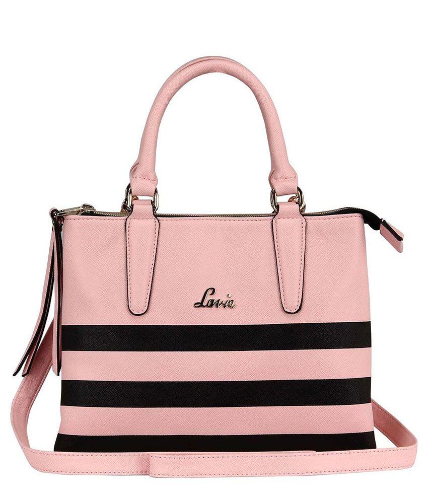Lavie BYZANTIUM 2C SM SATCHEL Pink Handbag