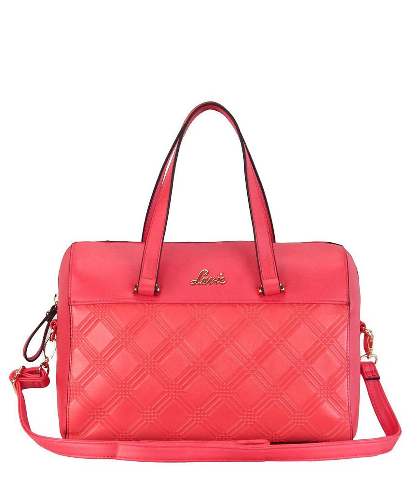 7fff83b8c4 Lavie CARAMEL MED BOX BAG Red Handbag - Buy Lavie CARAMEL MED BOX BAG Red  Handbag Online at Best Prices in India on Snapdeal