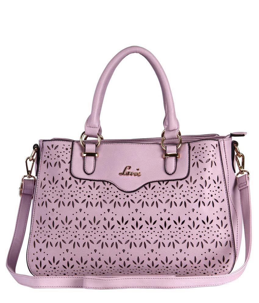 Lavie SAVANNAH 3C LG TOTE Purple Handbag