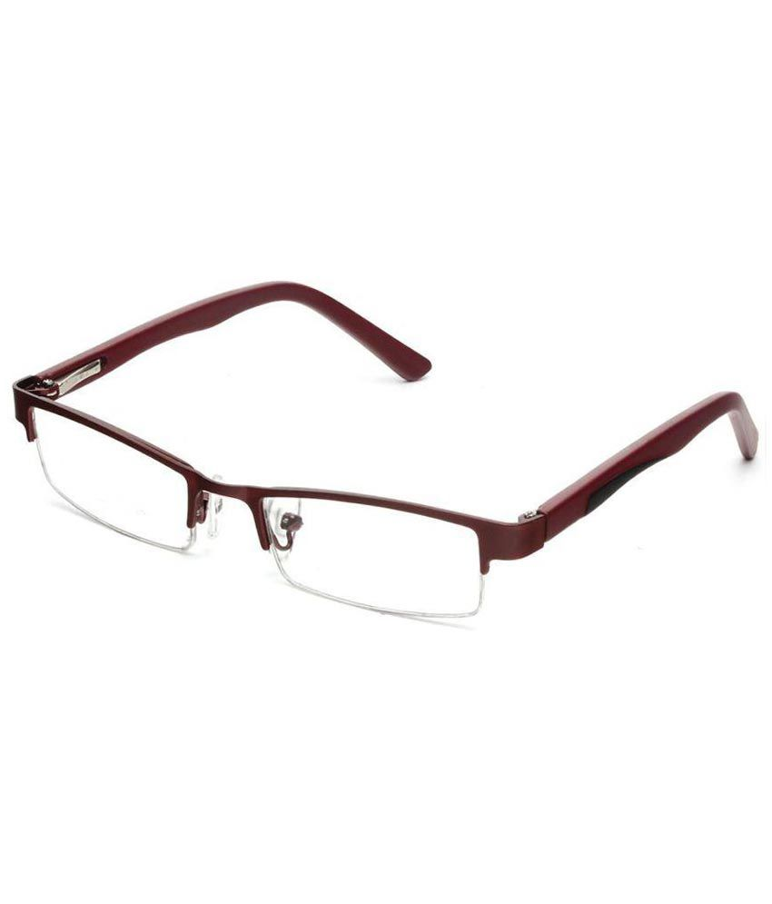 Specky Brown Rectangle Spectacle Frame