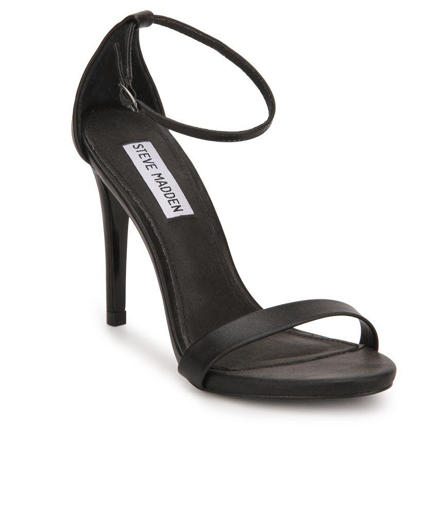 e954c47b0 Steve Madden Stecy Black Stiletto Heels Price in India- Buy Steve Madden  Stecy Black Stiletto Heels Online at Snapdeal
