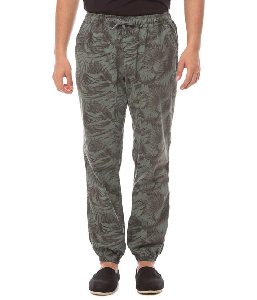 Shuffle Grey Regular Fit Jogger Jeans