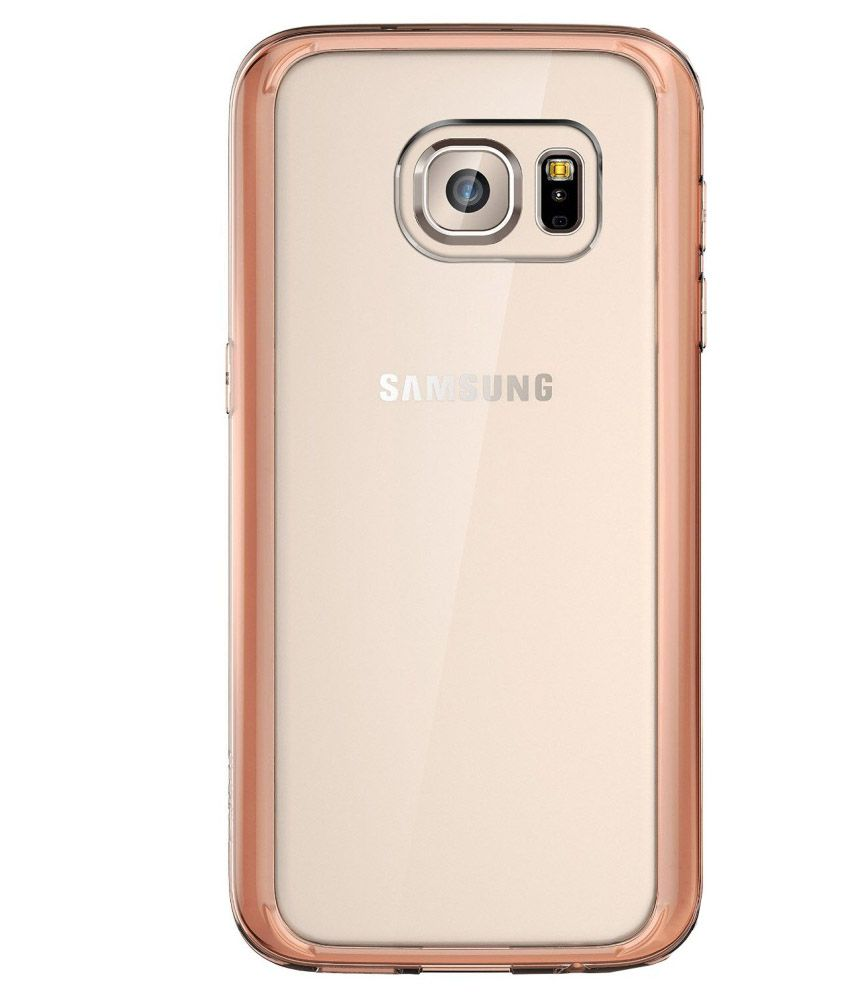 e lv bumper case for samsung galaxy s7 edge rose gold plain back covers online at low prices. Black Bedroom Furniture Sets. Home Design Ideas