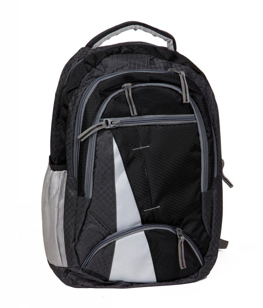 FIPPLE Black Canvas Laptop Bag For Dell Laptops
