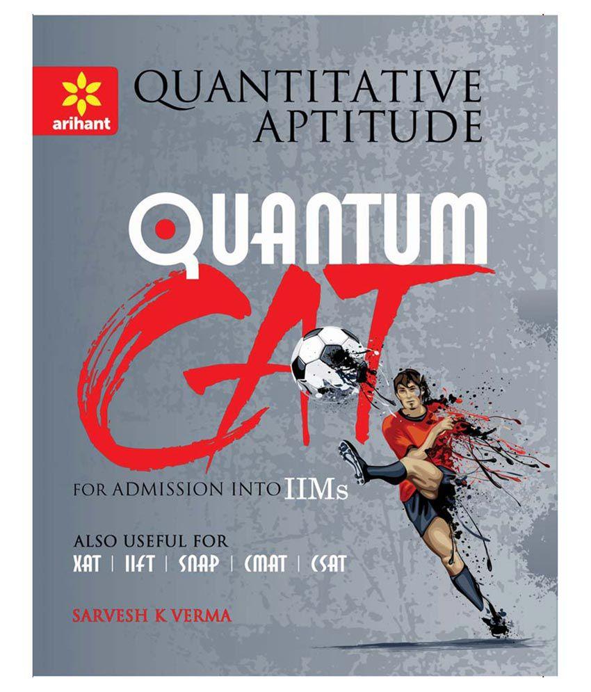 Quantitative Aptitude Book For Cat