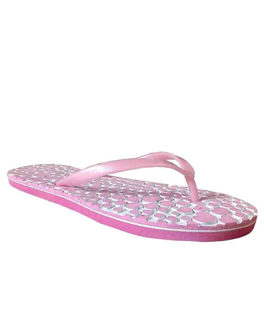 Unispeed Pink Flip Flops