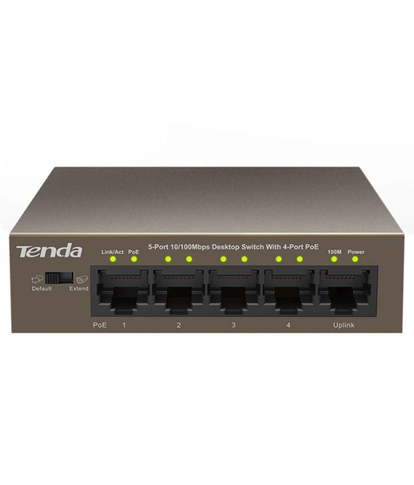 Tenda TE-TEF1105P Ethernet Switch - Black