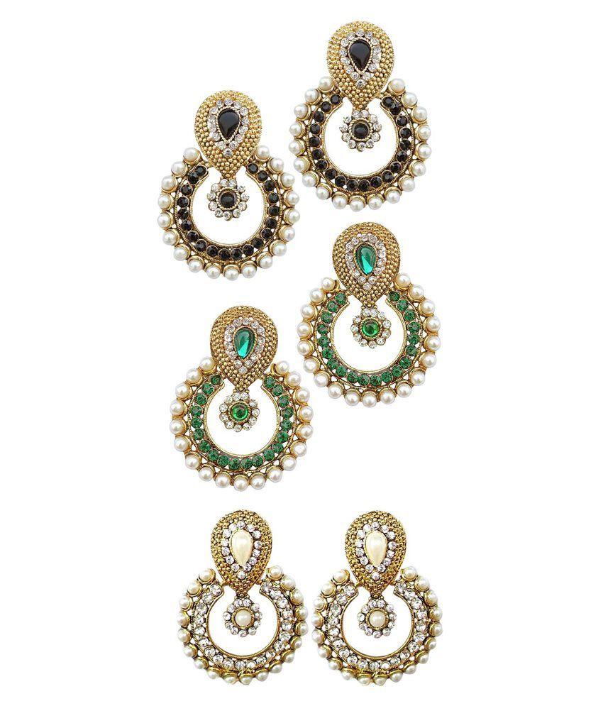 Codice Multicolour Alloy Drop Earrings