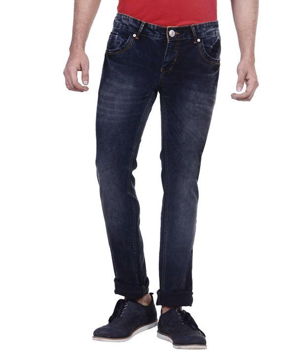 Passport Black Slim Fit Jeans