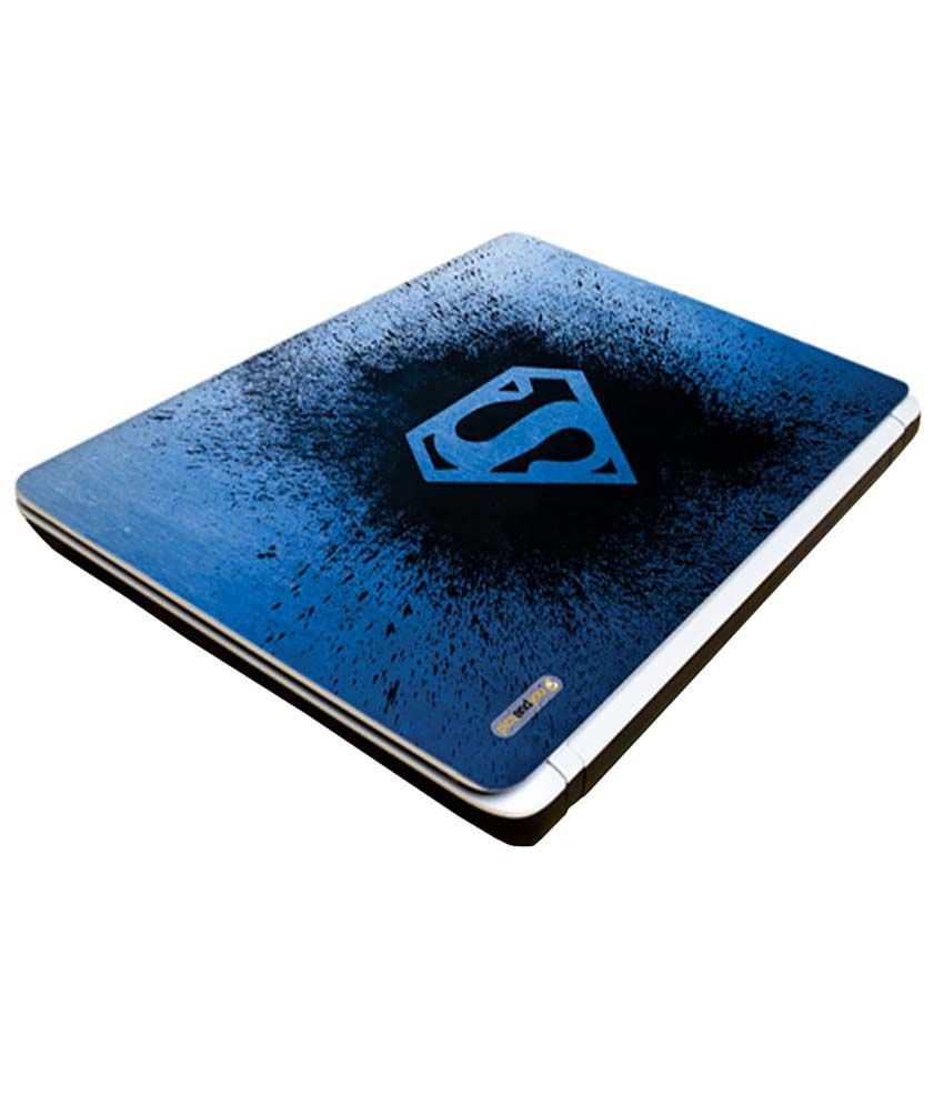 Pics And You Pics And You Awesome Superman Logo Laptop Skin