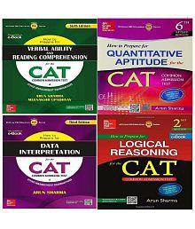 CAT Exam Books Combo Pack: Quantitative Aptitude, Data Interpretation, Logical Reasoning, Verbal Ability & Reading Comprehension