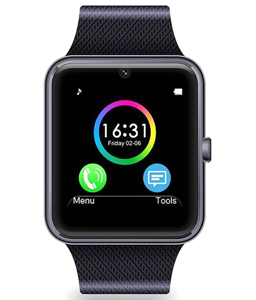 noise gt 08 black wearable amp smartwatches online at low