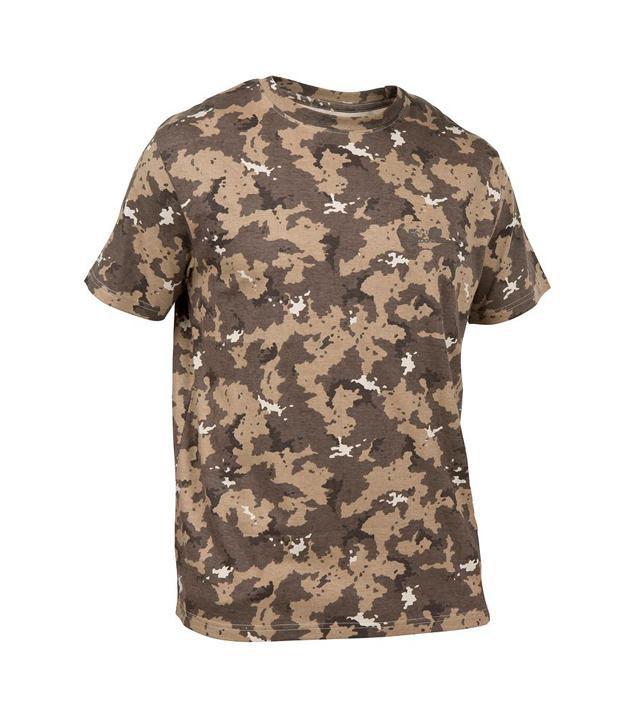 SOLOGNAC Steppe 100 T-Shirt Island Brown