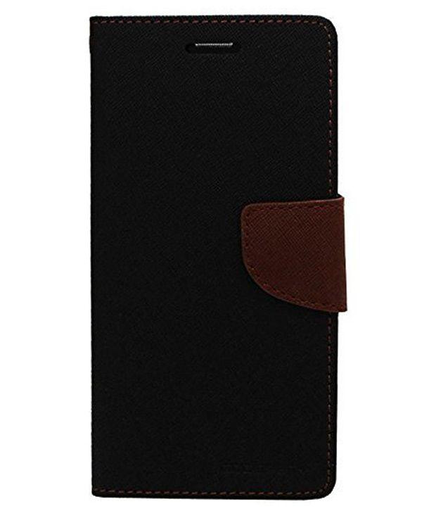 Fabmart Flip Cover For LG G4-Brown