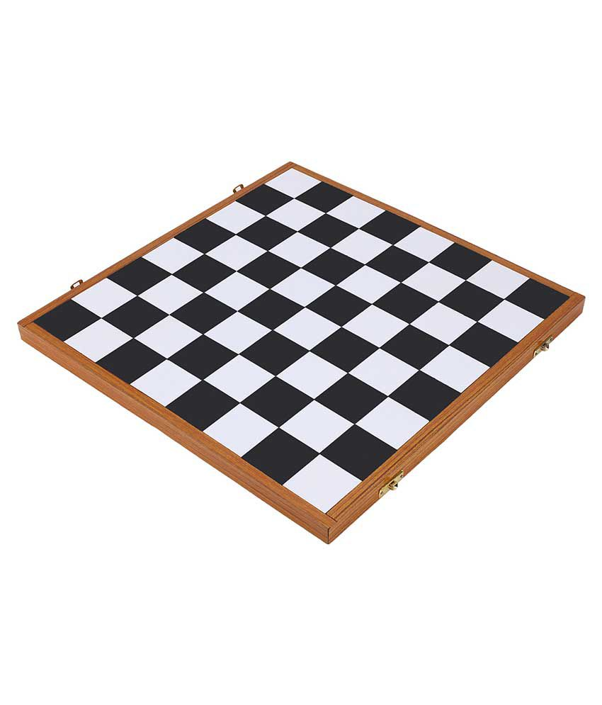 GBC Multicolor Sunmica Folding Chess Box Set