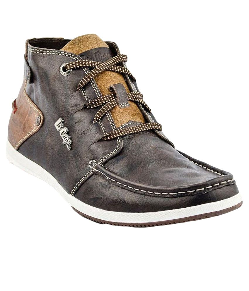 Lee Cooper Brown Boots